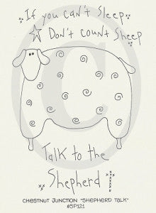 Shepherd Talk Embroidery