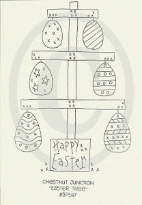 Easter Tree Embroidery Epattern