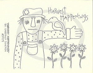 Harvest Happenings Embroidery Epattern