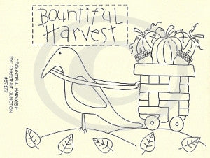 Bountiful Harvest Embroidery Epattern