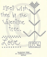 Valentine Tree Embroidery ePattern