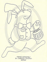 Peter Cottontail Embroidery ePattern