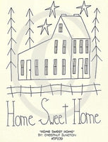 Home Sweet Home Embroidery ePattern