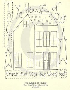 Ye House Of Olde Embroidery ePattern