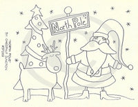 North Pole Embroidery ePattern