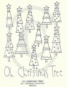 Oh Christmas Tree Embroidery ePattern