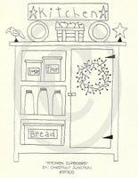 Kitchen Cupboard Embroidery ePattern