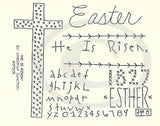 He Is Risen Embroidery ePattern