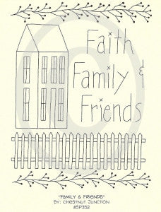 Family and Friends Embroidery ePattern