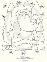 Happy Claus Embroidery ePattern