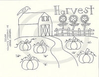 Harvest Stead Embroidery ePattern