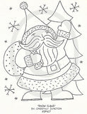 Snow Claus Embroidery ePattern