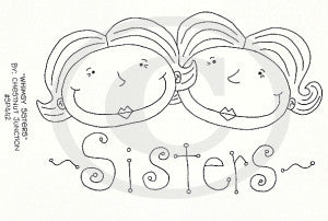 Whimsy Sisters Embroidery ePattern