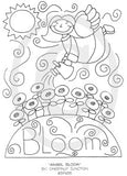 Angel Bloom Embroidery ePattern