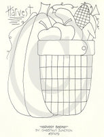 Harvest Basket Embroidery ePattern