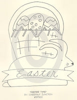 Easter Time Embroidery ePattern