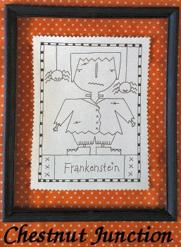 It's Frankenstein Embroidery ePattern
