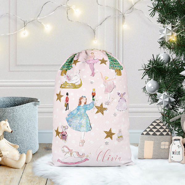 "Personalised santa sack ""Nutcracker"" - Lily Summery"