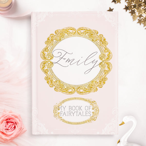 "Personalised Girls notebook  ""Fairytales"" - Lily Summery"