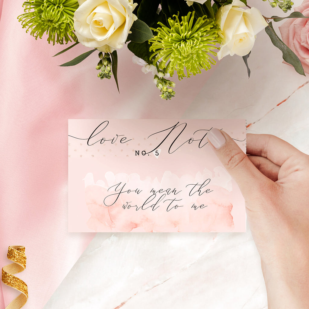 "Personalised Love notes  ""Ethereal"" - Lily Summery"
