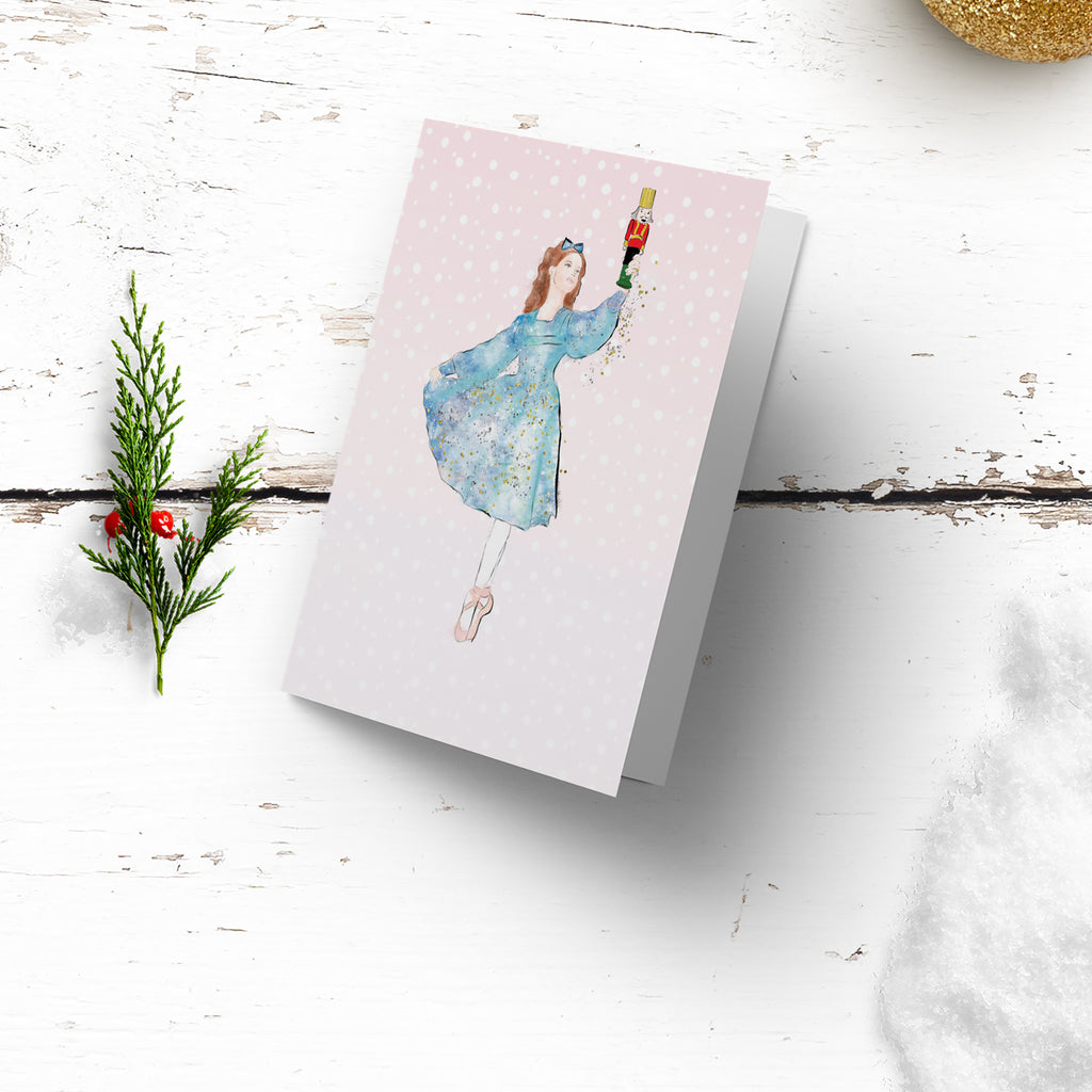 "Personalised Christmas Wrapping paper ""Nutcracker"" - Lily Summery"