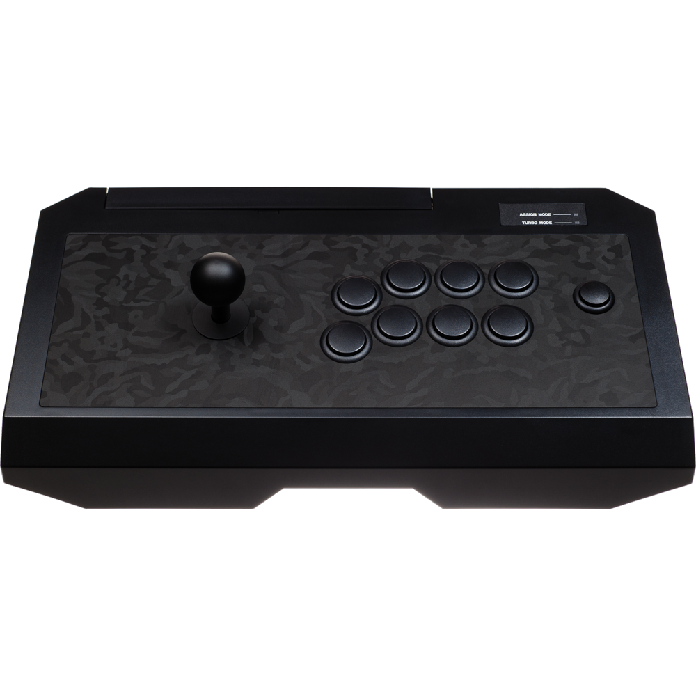 Hori RAP4 Kai Shadow Black Camo w/EX Gear [Customized by LAYERS FGC / Madd Modders]