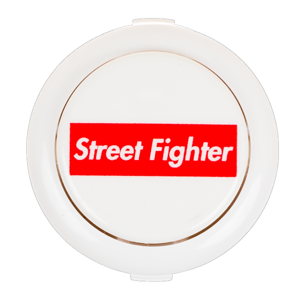 Street Fighter Groove Box Logo Pushbutton (30mm)