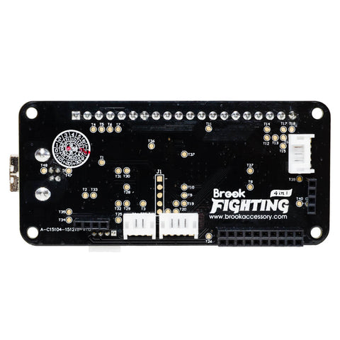 EZ Mod for Hori RAP VLX w/Brook Universal Fighting Board Kit (w/soldered headers)