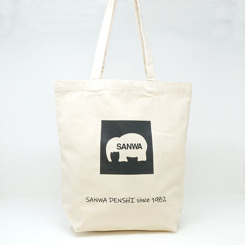 SANWA DENSHI Limited Edition Canvas Tote Bag