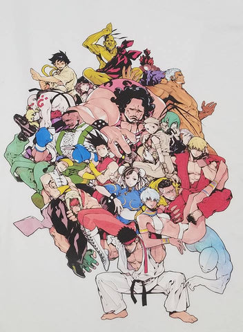 Street Fighter III: 3rd Strike - Breaking Back Tee [REMASTERED PRINT]
