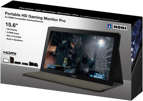 "Hori Universal HD Gaming Monitor 15.6"" (PS4 / PS3 / Xbox 360 / Xbox One) [DECEMBER to REMEMBER PROMO]"