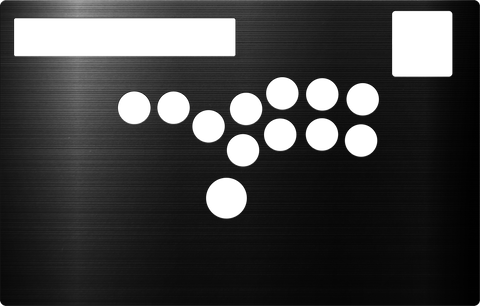 HIGH GRADE Aluminum [HORI RAP N HITBOX CONVERSION KIT]