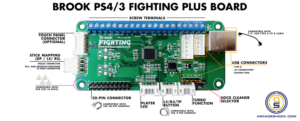 Brook PS3 / PS4 Fighting Board Plus