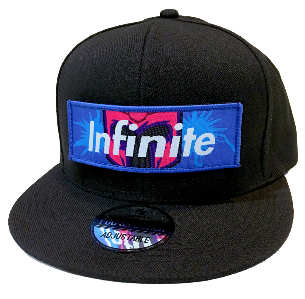 INFINITE FGC Snapback Cap (Removable Patch) [FGC PROMO 30% OFF]