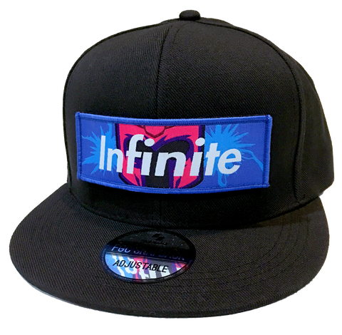 INFINITE FGC Snapback Cap (Removable Patch) [FGC PROMO 20% OFF]