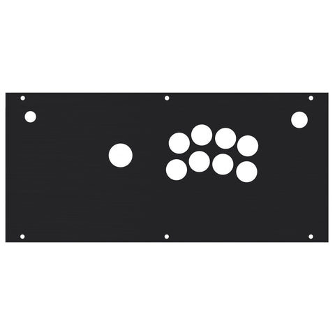 HIGH GRADE Aluminum Control Panel [HORI FIGHTING EDGE - NOIR Choose JP or KR]