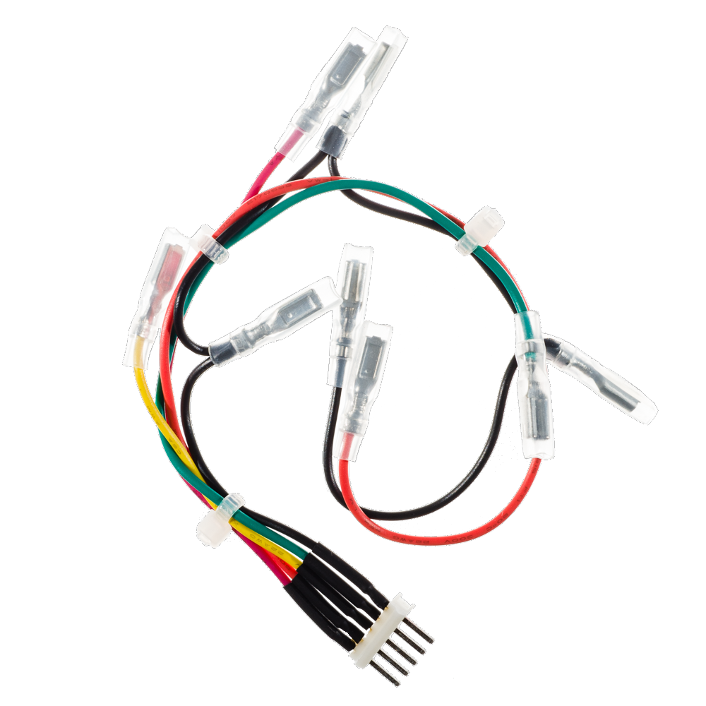 jlf (5 pin) to hitbox conversion cable 5 Wire Wiring Harness