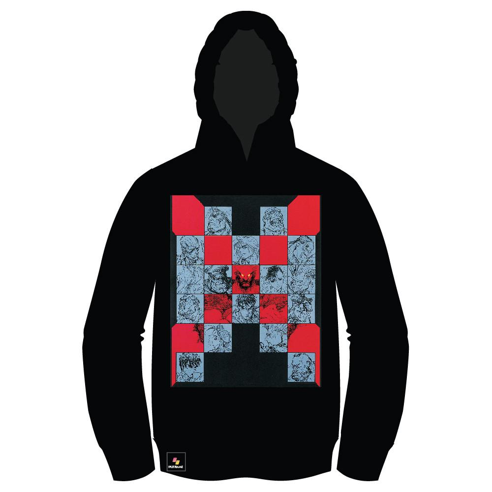 Super Street Fighter II X (TURBO INSTINCTS) PULLOVER Hoodie [Front Print] [CYBER WEEK 40% OFF]