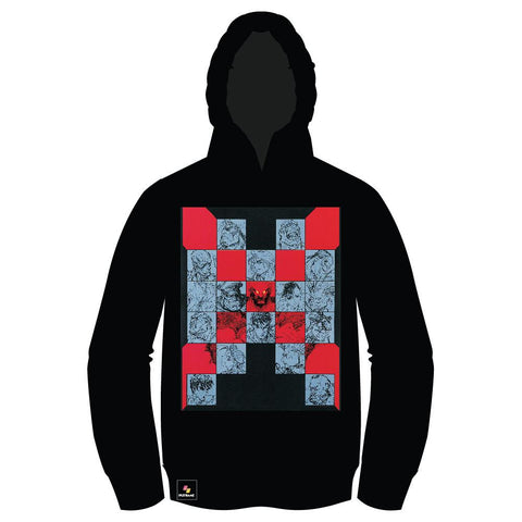 Super Street Fighter II X (TURBO INSTINCTS) PULLOVER Hoodie [Front Print] [WINTER SALE 30% OFF]