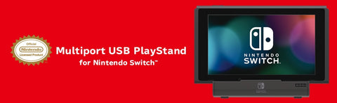Multiport USB Playstand for Nintendo Switch by Hori