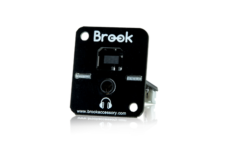 Brook PS3 / PS4 / PC Fighting Board w/ Audio [USB Type B Version 2017]