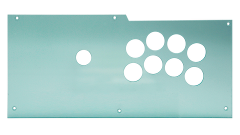 Qanba Obsidian Noir Layout Plexi and Metal Plate Kit [PRE-ORDER]