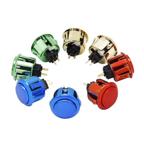 Qanba METALLIC (30mm) Pushbuttons