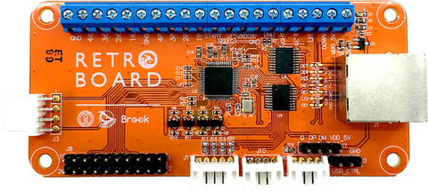 BROOK RETRO BOARD (NES | SNES | GC | Xbox | DC | TG16 | PS1 | PS2 | PS3 | PC)