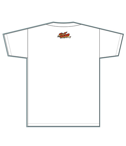 RYU (Invincible Shoryuken) White Tee [FGC PROMO 50% OFF]