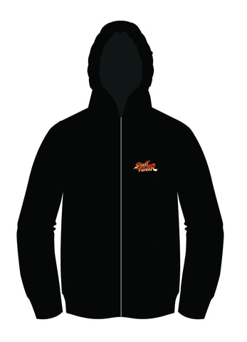 Street Fighter Alpha (Zero) 2 Silhouette Zip-up Hoodie [WINTER SALE 30% OFF]