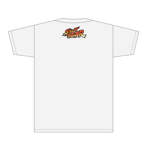 Street Fighter III: 3rd Strike Breaking Back Tee (White) by Motoki Yoshihara [DECEMBER to REMEMBER 30% OFF]