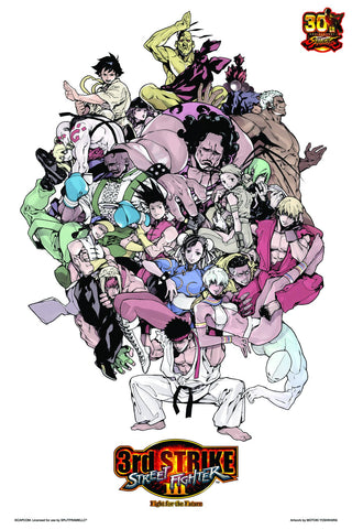 Street Fighter III: 3rd Strike Breaking Back Poster by Motoki Yoshihara