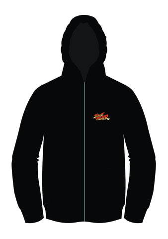 Street Fighter III: 3rd Strike Universe [ZIP-UP] Hoodie (by Motoki Yoshihara)