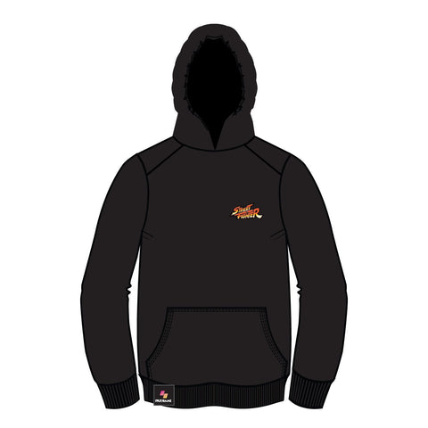 Super Street Fighter II X (TURBO INSTINCTS) Hoodie [Version 2 - Print on Back] [WINTER SALE 30% OFF]